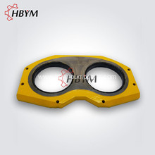 High Quality Putzmeister Concrete Pump Parts DN200 Spectacle Wear Plate